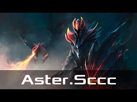 Aster.Sccc — Dragon Knight, Mid Lane (Sep 27, 2019)   Dota 2 Patch 7.22 Gameplay