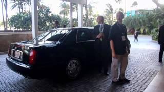 indonesian president susilo bambang yudhoyono at trump waikiki hotel