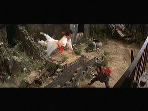 KID WITH A TATTOO: Yuen Wah vs. Yuen Bun (spear vs. double broadsword)