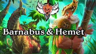 Barnabus and Hemet 🍀🎲 ~ Journey to Un'Goro ~ Hearthstone Heroes of Warcraft