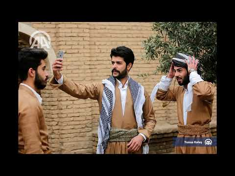 Traditional clothes in iraq