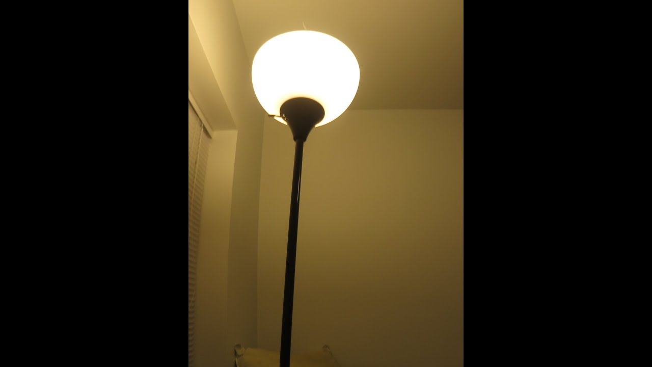 Two ways to reach and turn on of tall floor lamps for for Tall lantern floor lamp