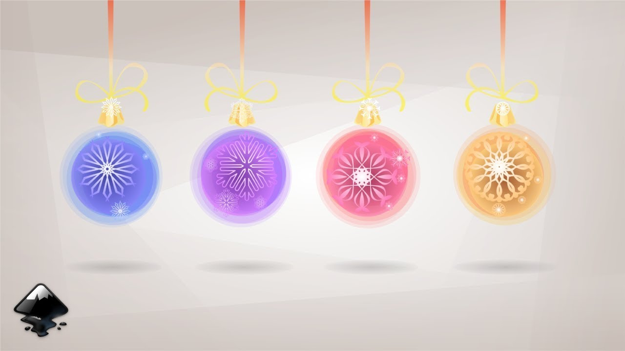 How To Draw Christmas Balls In Inkscape