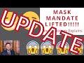 UPDATE on Texas Mask Mandate (Breaking News AGAIN)