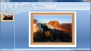 PowerPoint training | How to Combine Two Photos in PowerPoint