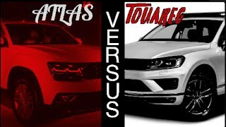 New 2018 VW ATLAS vs 2017 VW Touareg | Review & Test Drives - Which do you like best?