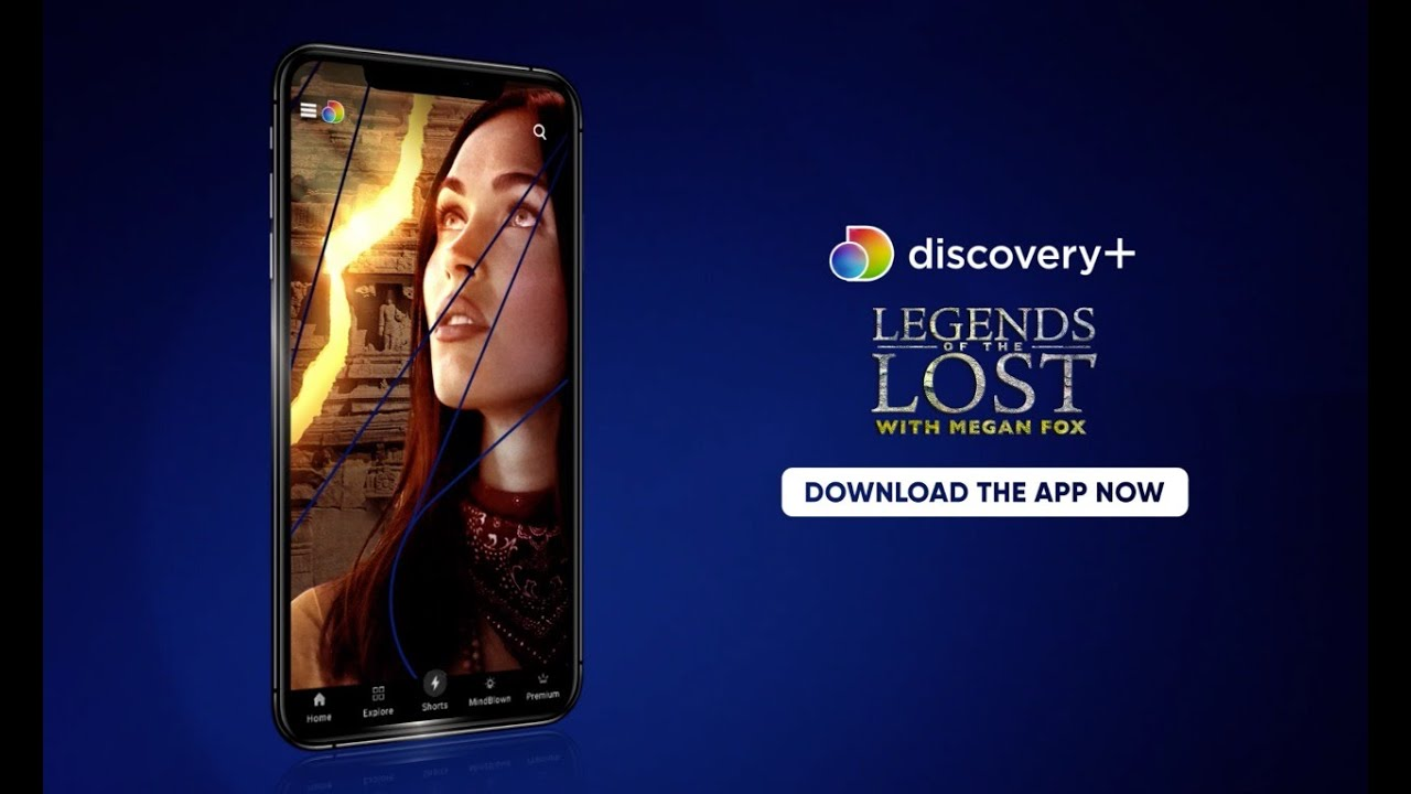 Watch Legends of the Lost with Megan Fox now streaming on the Discovery Plus app