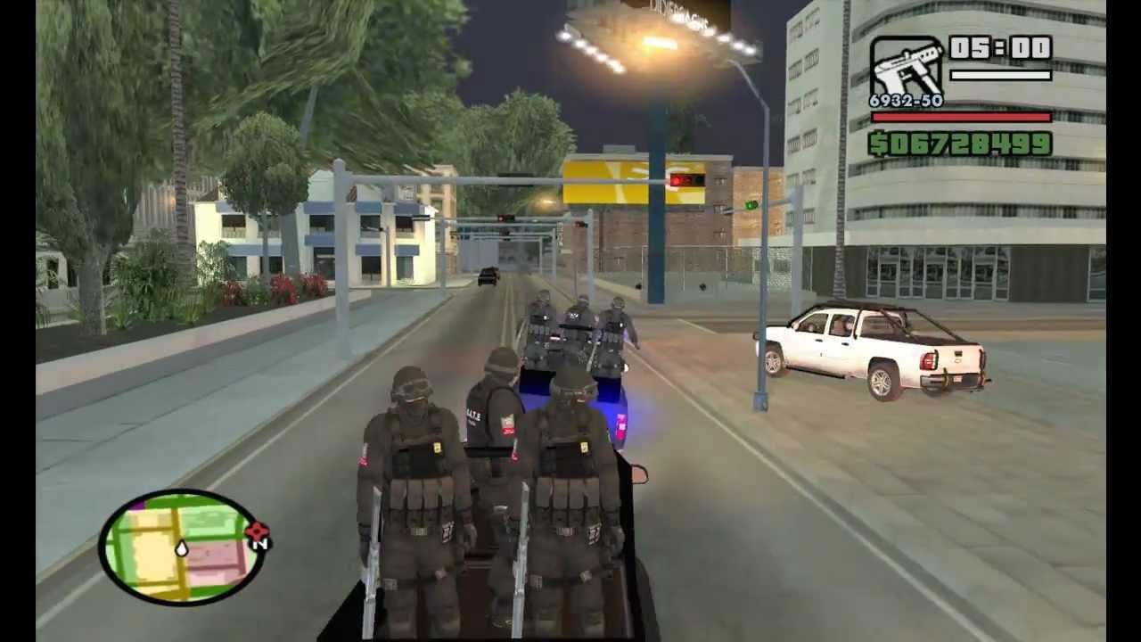 Gta San Andreas Wallpaper Hd Gta Sa Gate Convoy Y Hombres En Cajuela Operativo 3 Hd