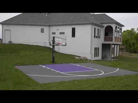 Outdoor Basketball Court Flooring Ideas