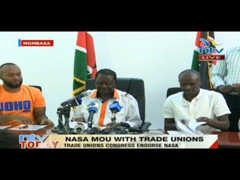 Trade Unions congress endorse Nasa