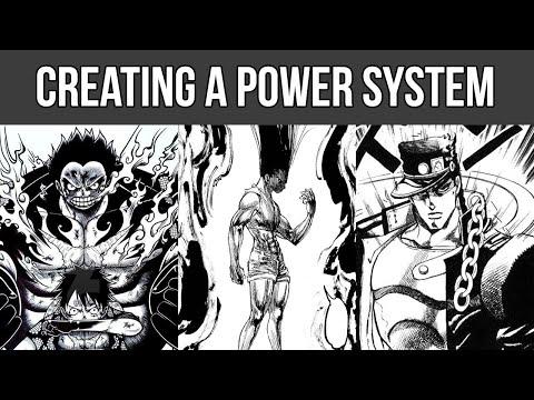 How To Write Shonen Power Systems For Comics & Manga