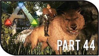 "ARK: Survival Evolved Gameplay Part 44 - ""DIREWOLF TAMING!"" (Season 2)"