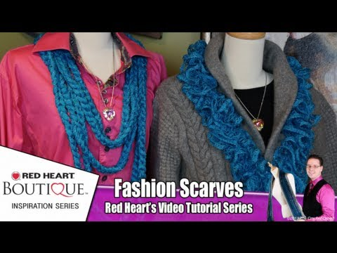 d64a889117bb4 How To Wear Sashay Chain & Ruffle Scarves - YouTube