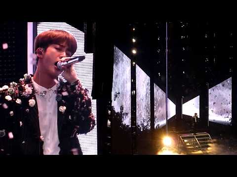 BTS - Epiphany (Jin Solo)  O2 Arena London - October 9th 2018