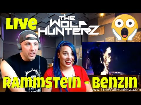 Rammstein - Benzin (Live from Madison Square Garden) THE WOLF HUNTERZ Reactions