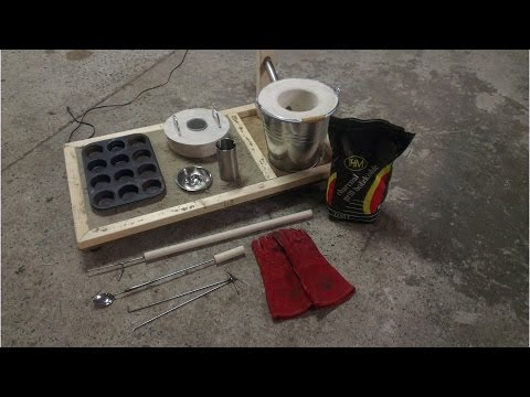 How To Make a Mini Metal Melting Foundry