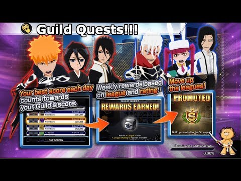 Bleach Brave Souls: Guild Quest !!! Como funcionam - Omega Play