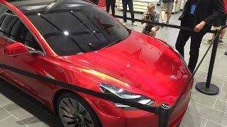 Wonderful Tesla Model 3 prototype!