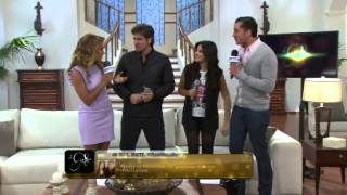 Maite Perroni y Daniel Arenas se despiden de La Gata