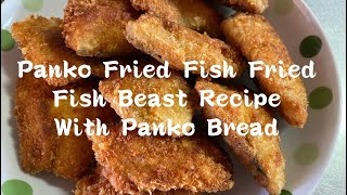 Panko || Fried || Fish || Fried || Fish Breast Recipe With Panko Bread