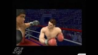 Knockout Kings 2003 GameCube Gameplay - Ali knocks them down