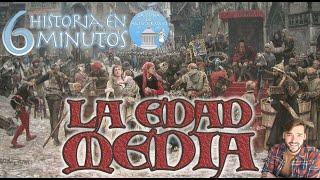 LA EDAD MEDIA (476-1492) | Historia en 6 minutos