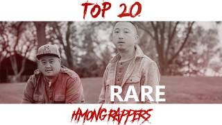 TOP 20 HMONG RAPPERS