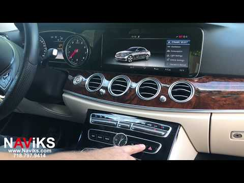 2017 Mercedes Benz E Class W213 NAViKS HDMI Video Interface