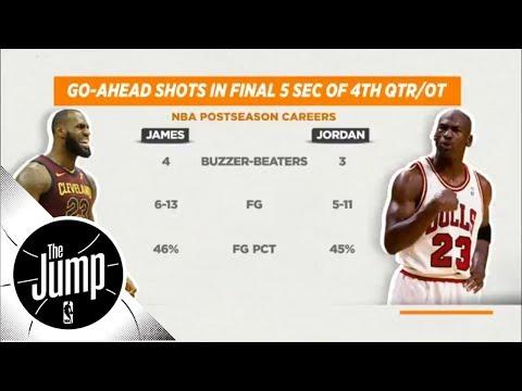 Is LeBron James As Clutch As Michael Jordan? | The Jump | ESPN