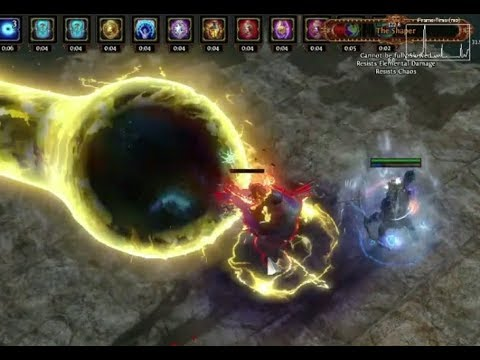 Poe Barrage Dps Build