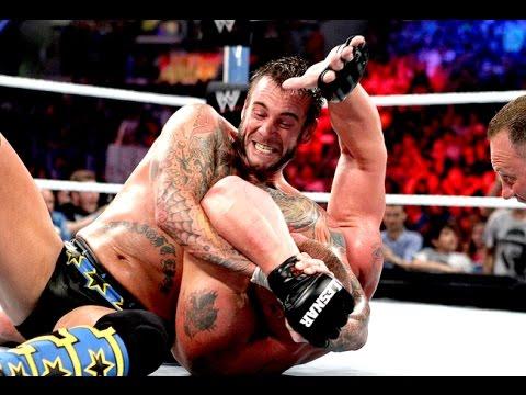 Cm punk vs Brock Lesnar  Summerslam...
