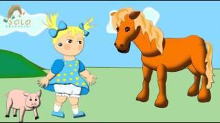 Обучающий мультфильм(( Домашние животные и их дети))