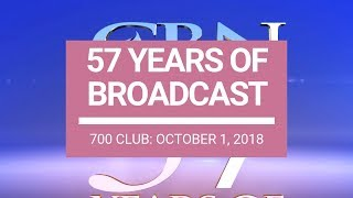 The 700 Club - October 1, 2018