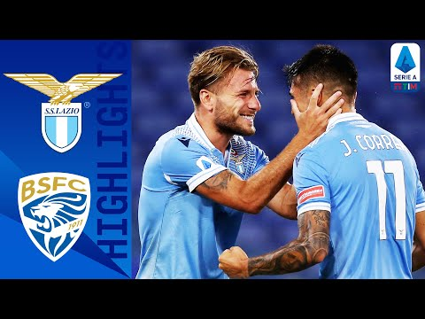 Lazio 2-0 Brescia | Immobile Scores Again as Lazio Beat Brescia | Serie A TIM