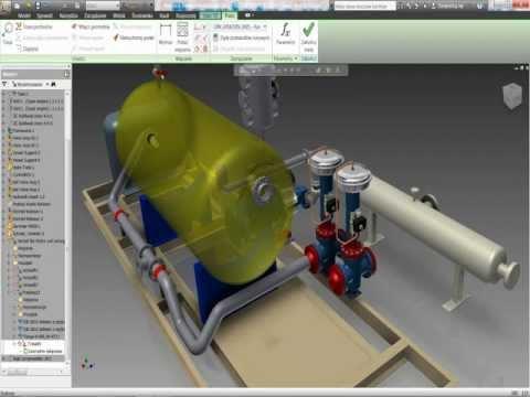 PROCAD NetCafe Autodesk PDS 2012 - Projektowanie systemów rurowych w Autodesk Inventor