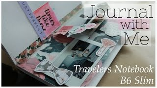 journal with me b6 slim traveler s notebook