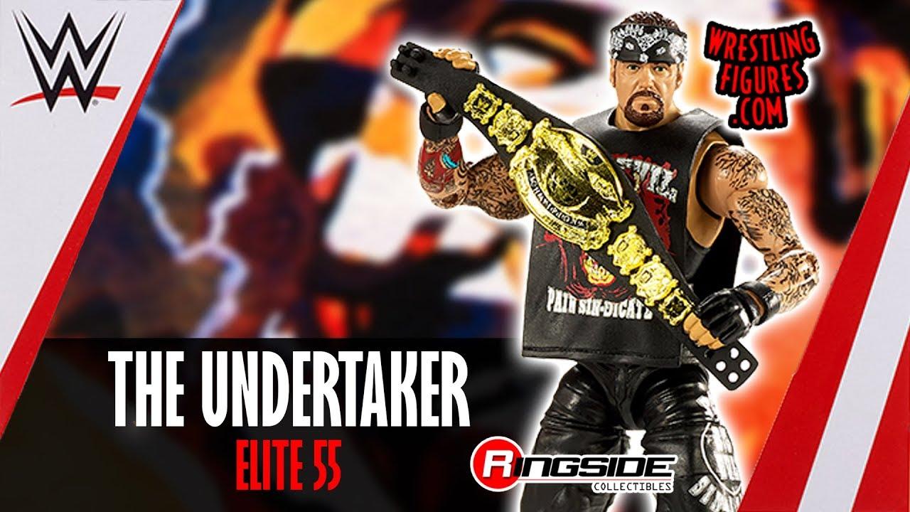 WWE Mattel UNDERTAKER ELITE SERIES 55 Action Figure Loose American Badass