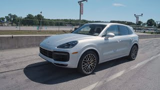homepage tile video photo for Porsche Cayenne Turbo at Lightning Lap 2019