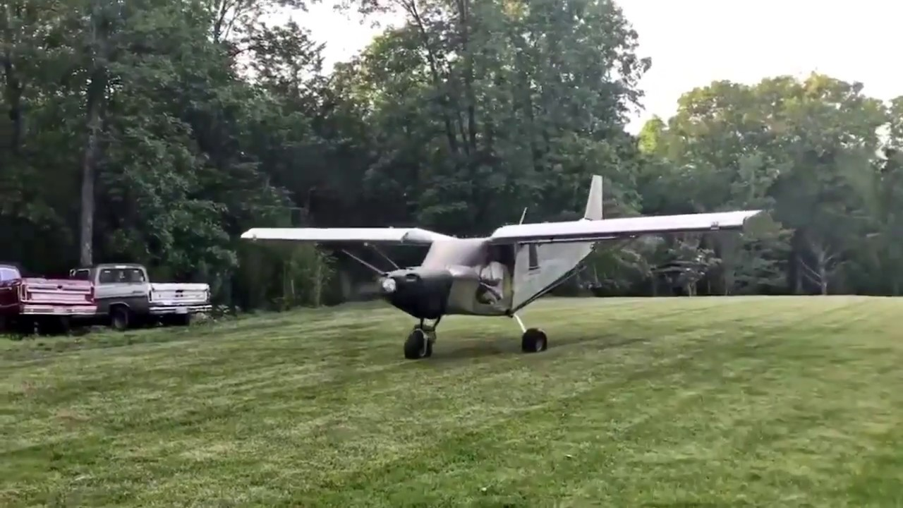 Taxi Tests: Zenith STOL CH701 with the ULPower UL350iS engine