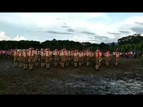 A. Mabini NHS Champion Fancy Drill 6th ASEAN Scout Jamboree