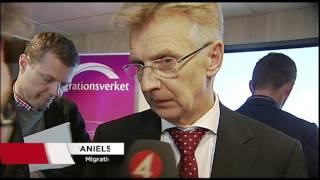 Migrationsverket: 45 000 asylplatser saknas vid nyår - Nyheterna (TV4)