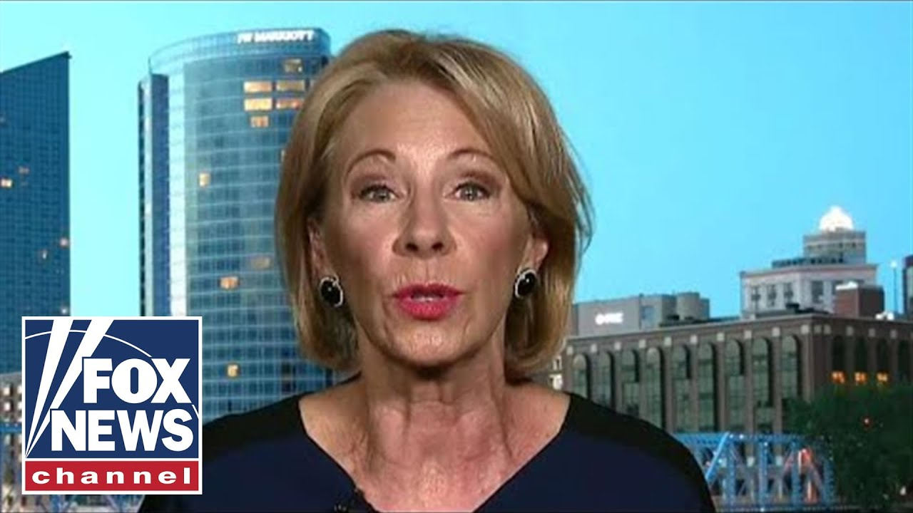 Education Secretary DeVos on combating the homeless crisis in schools FOX News