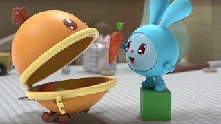 Малышарики - Ням-Ням - серия 125 - обучающие мультфильмы для малышей