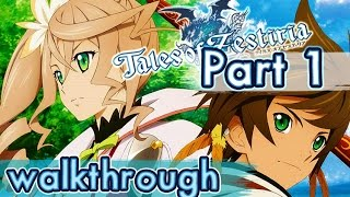 Tales of Zestiria Walkthrough Part 1 English (PS4, PS3, PC) ♪♫ No commentary