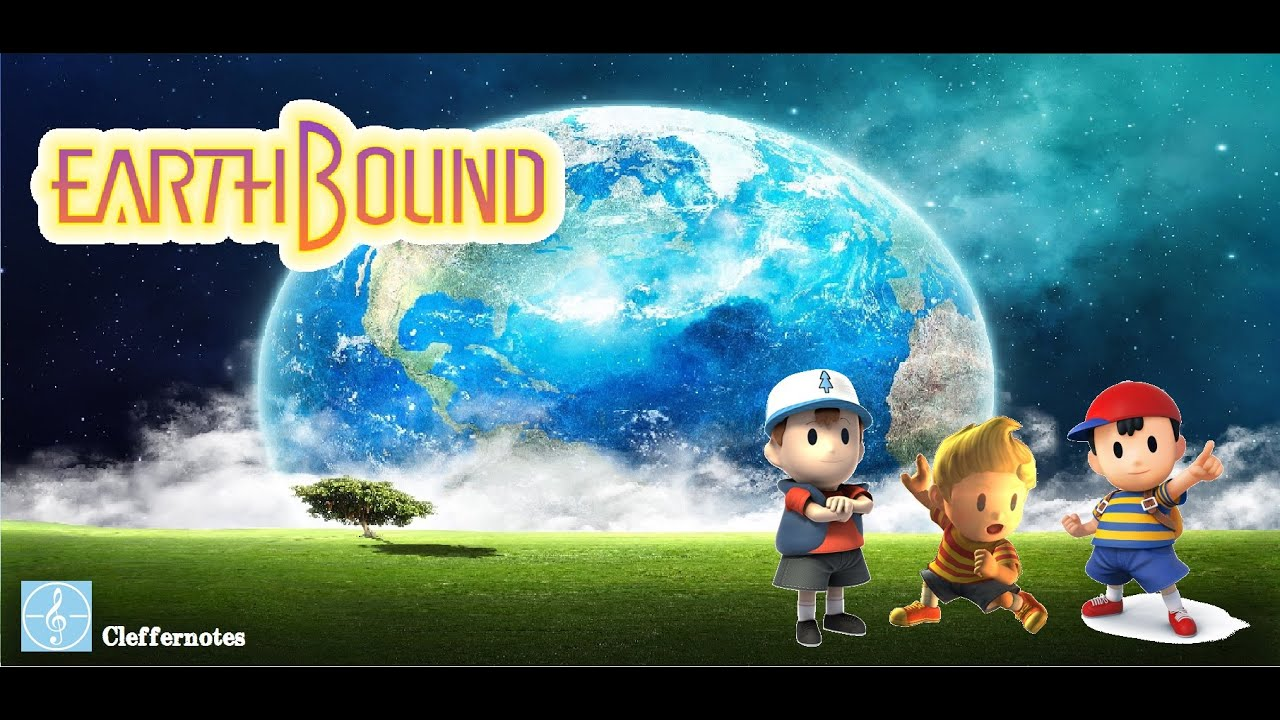 mother earthbound 3ds music main theme my rendition youtube