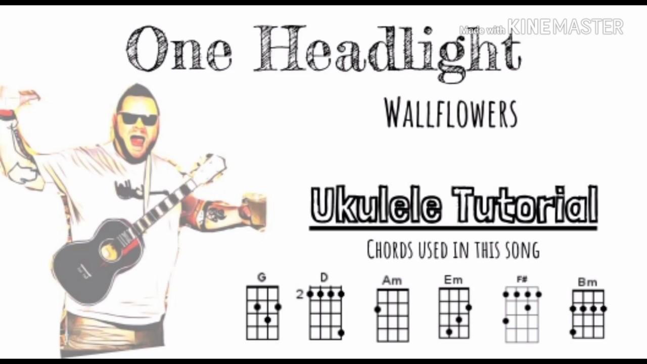 One Headlight Wallflowers ukulele tutorial