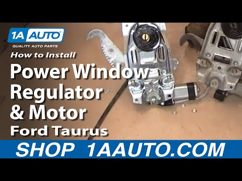 How to Replace Window Regulator 96-07 Ford Taurus