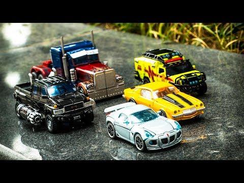 Transformers Movie Autobot Jazz Bumblebee Ratchet Ironhide Optimus Prime Vehicle Car Robot Toys
