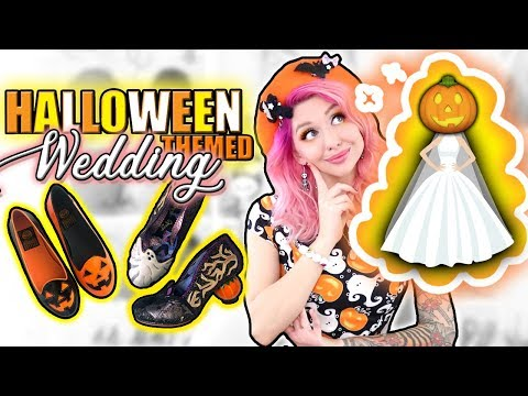 Picking My HALLOWEEN-THEMED WEDDING Shoes???