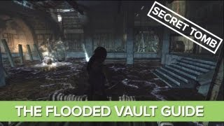Tomb Raider Secret Tomb Guide, Location - Shipwreck Beach, The Flooded Vault (Tomb #6)